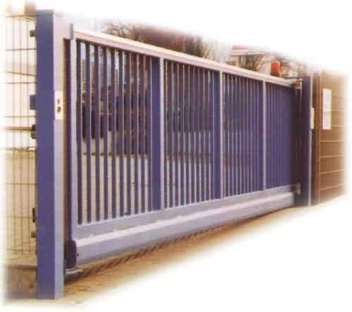 Wrought Iron Automatic Security Gates Commercial For Living Quarter XLF-03