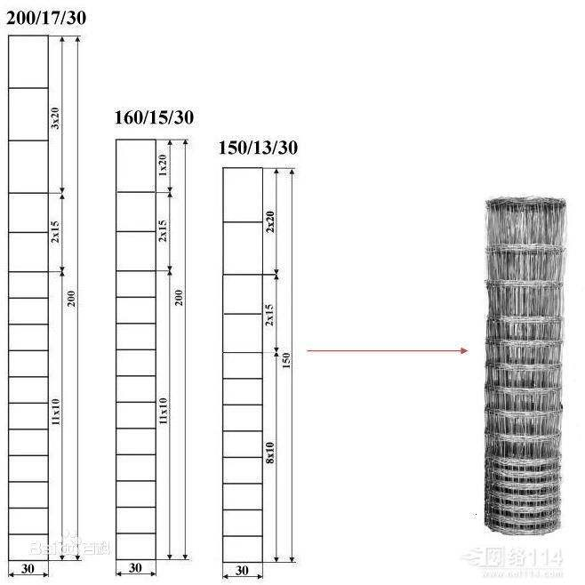 Multi Function Galvanized Cattle Fence , Galvanized Horse Fence 30 - 100m Length