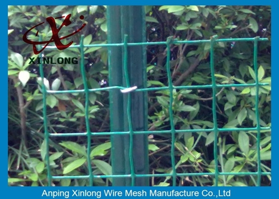 Cina Eco Friendly Euro Panel Fencing Convenient Installation 4x4 5x5 6x6mm pemasok