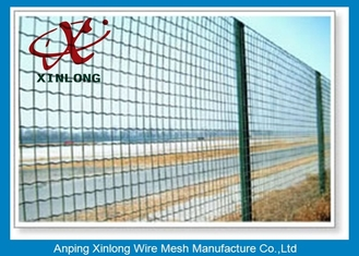 Cina Hot Dipped Galvanized Euro Panel Fencing Corrosion Resistant For Boundary pemasok