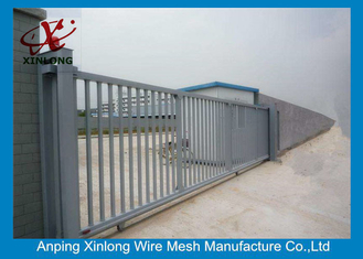 Cina 2m Height Automatic Sliding Gates For Driveways High Performance RAL 256 Colors pemasok