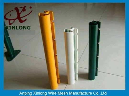 Cina Xinlong Fence Post Accessories Square Fence Posts Pvc Coating Anti Corrosion pemasok