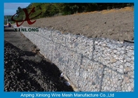 Cina Hot Dipped Galvanized Gabion Box , Welded Gabion Baskets For Riverbed pabrik