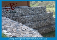 Galfan Galvanized Gabion Box, Gabion Wall Baskets Untuk Riverbed Garden