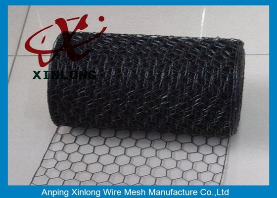 Galvanized Hexagonal Wire Mesh PVC Coated Rabbit Wire Mesh Fence For Farm