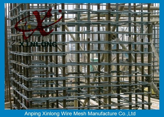6Mm Welded Reinforcing Wire Mesh Square / Rectangle Hole Shape XLS-02