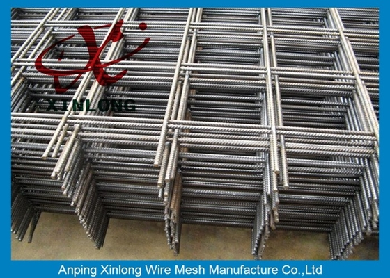 Square Hole Shape Galvanized Welded Wire Mesh Pagar 200 * 200mm 100 * 100mm