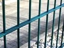 Double Loop Wire Mesh Pagar Double Wire Mesh Pagar Powder Coated Untuk Boundary