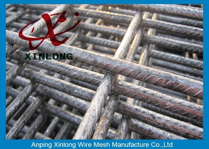 Customized Reinforcing Wire Mesh Square Hole Shape OEM / ODM Available